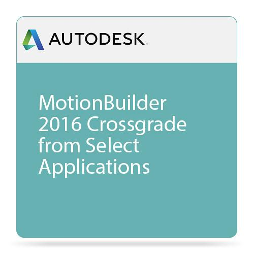 Autodesk MotionBuilder 2016 Crossgrade from 727H1-WWR71E-1001-VC