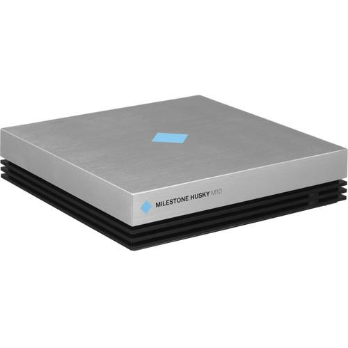 8-Channel NVR with 2TB HDD and 4 1MP Mini Dome
