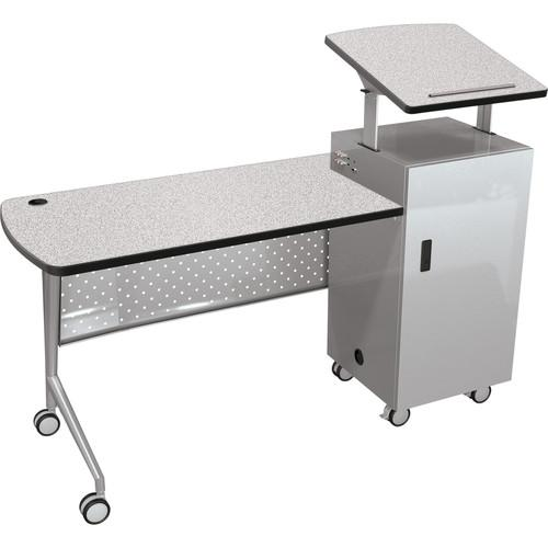 Balt  Trend Podium Desk (Gray Nebula) 58229-4622