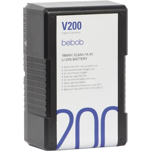 Bebob Engineering BE-V200 V-Mount Li-Ion Battery BE-V200