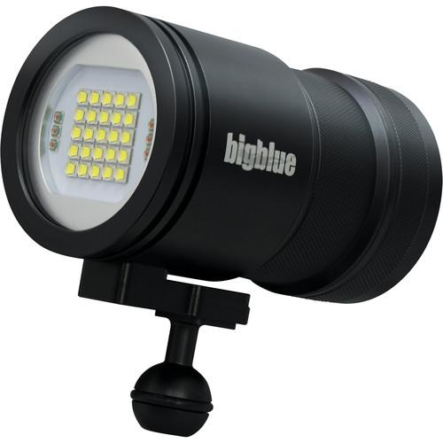 Bigblue VL15000P Pro Video LED Dive Light (Black) VL15000P PRO