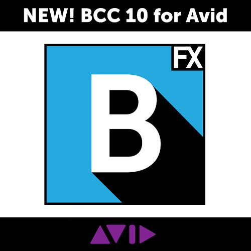 Boris FX Continuum Complete 10 for Avid - Academic BCCAVX1000A