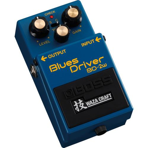 BOSS BD-2W Blues Driver Waza Craft Distortion Pedal BD-2W