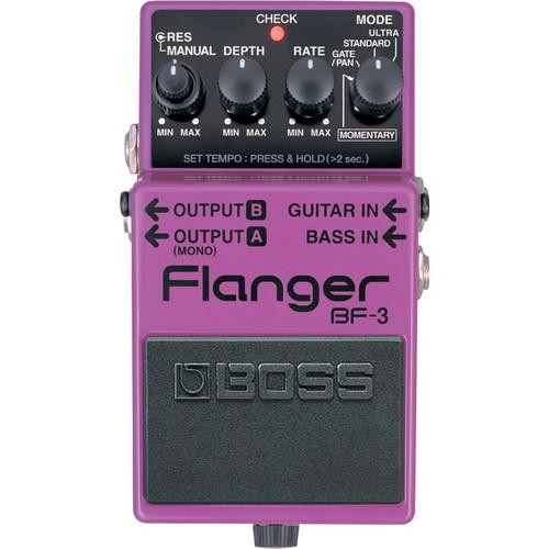 BOSS  BF-3 Flanger Pedal BF-3