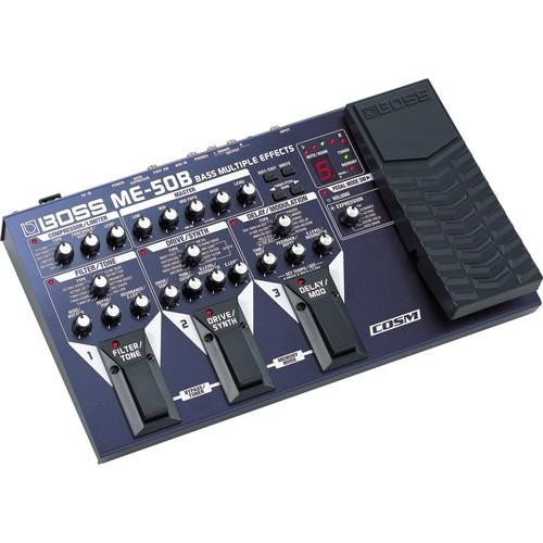 BOSS ME-50B Bass Multiple Effects Processor ME-50B