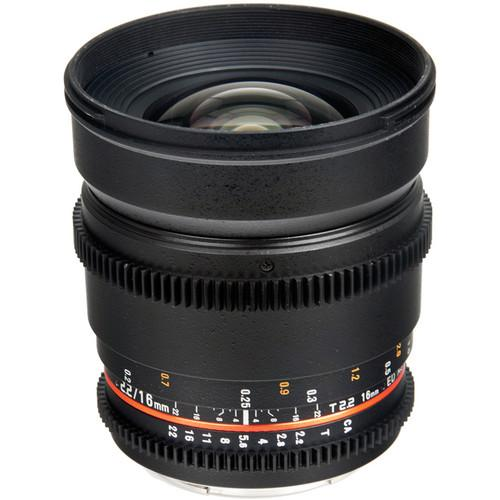 Bower 16mm T2.2 Cine Lens for Sony A-Mount SLY16VDS