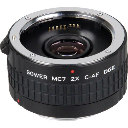Bower 2x DGII Teleconverter with 7 Elements for Pentax K SX7DGP