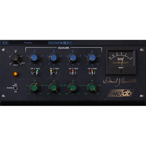 BOZ DIGITAL  10db Equaliser - Modeled EQ Plug-In 10-12101