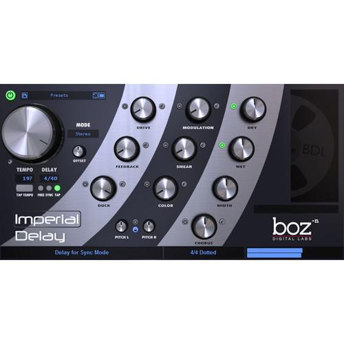 BOZ DIGITAL Imperial Delay - Delay Plug-In (Download) 10-12092