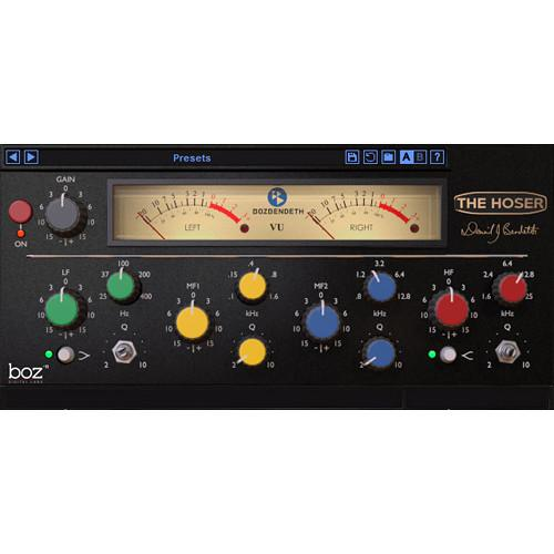 BOZ DIGITAL The Hoser - Modeled Ward Beck Channel EQ 10-12102
