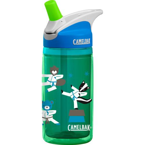 CAMELBAK 0.4L eddy Kids Insulated Water Bottle (Kung Fu) 54153