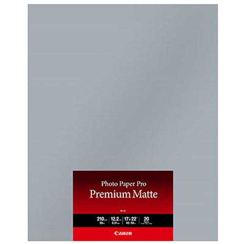 Canon PM-101 Photo Paper Pro Premium Matte 8657B016