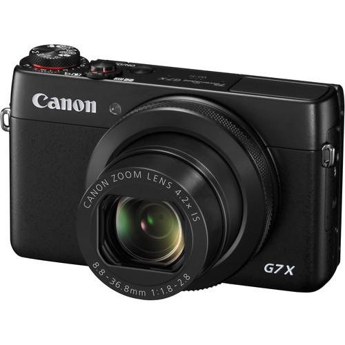 Canon PowerShot G7 X Digital Camera with Accessory Kit