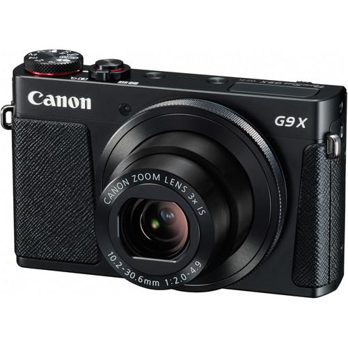 Canon PowerShot G9X Digital Camera with PIXMA PRO-100 Printer