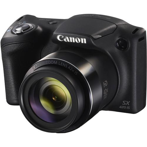 Canon PowerShot SX420 IS Digital Camera (Black) 1068C001