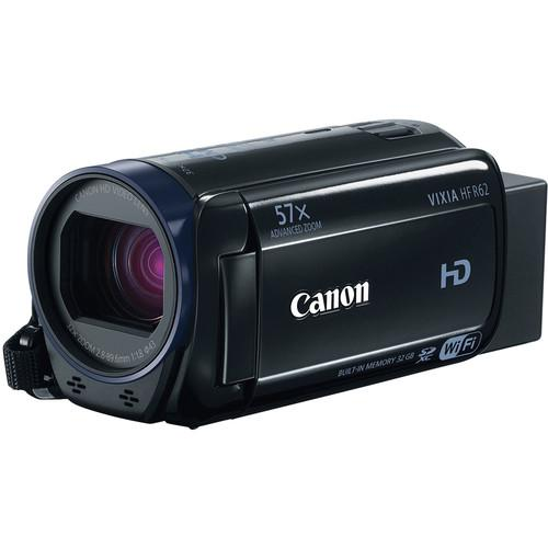 Canon  Vixia HFR62 HD Camcorder Deluxe Kit