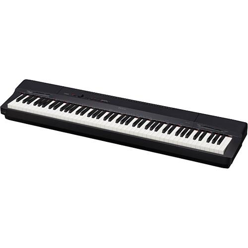 Casio PX-160 88-Key Digital Piano Essentials Bundle (Black)