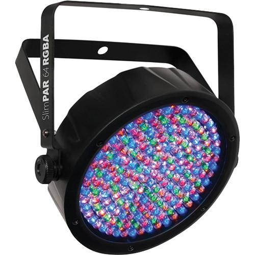 CHAUVET SlimPAR 64 RGBA LED Light with Power and DMX