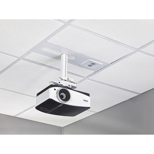 Chief Suspended Ceiling Projector System with 2-Gang SYSAUWP2