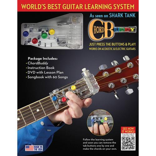 ChordBuddy ChordBuddy Guitar Learning System 139936