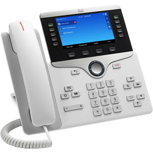 Cisco 8851 Wall Mountable IP Phone - White CP-8851-W-K9