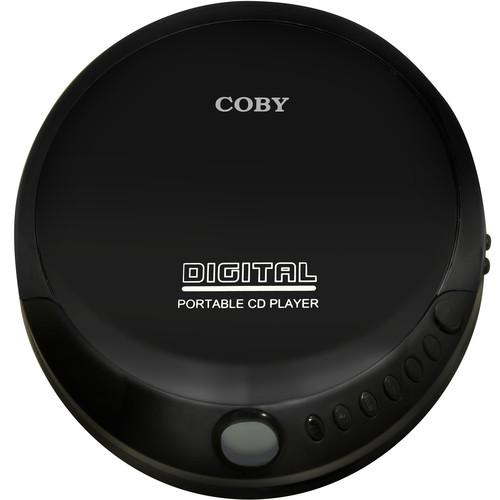 Coby Portable Compact CD Player (Black) CD-190-BLK