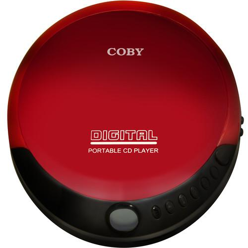 Coby  Portable Compact CD Player (Red) CD-190-RED