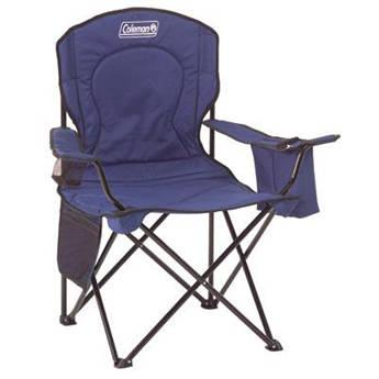 Coleman Oversized Quad Chair with Cooler (Black) 2000020267