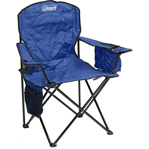 Coleman Oversized Quad Chair with Cooler (Blue) 2000020266