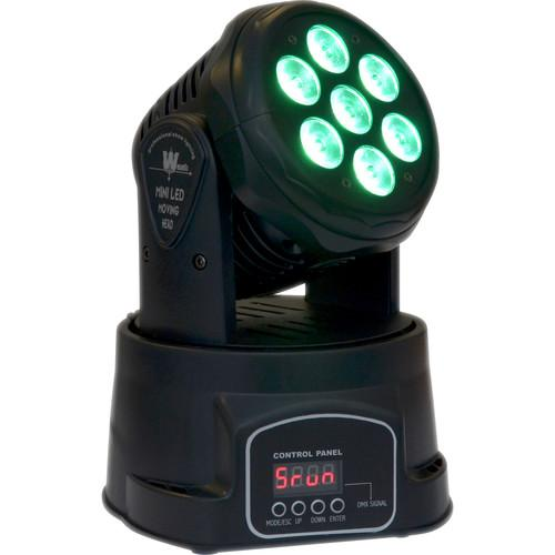 ColorKey Mover MiniWash QUAD-W7 - Moving Head LED CKU01-5020