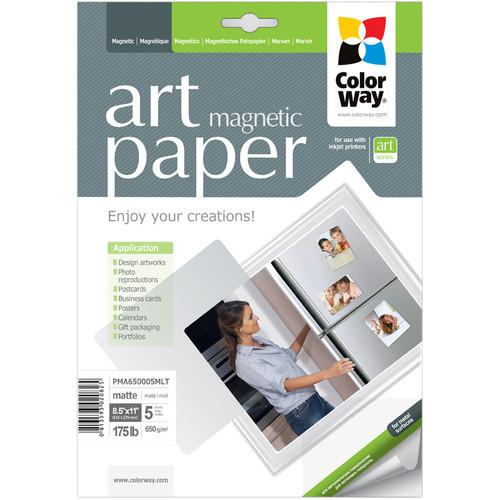 ColorWay ART Matte Magnetic Photo Paper PMA650005MLT