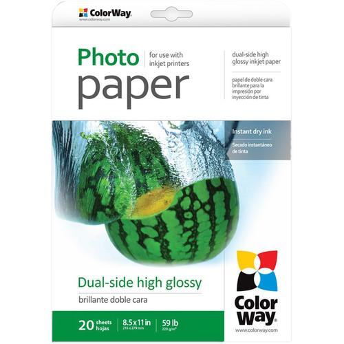 ColorWay Dual-Side High Glossy Photo Paper PGD220020LT