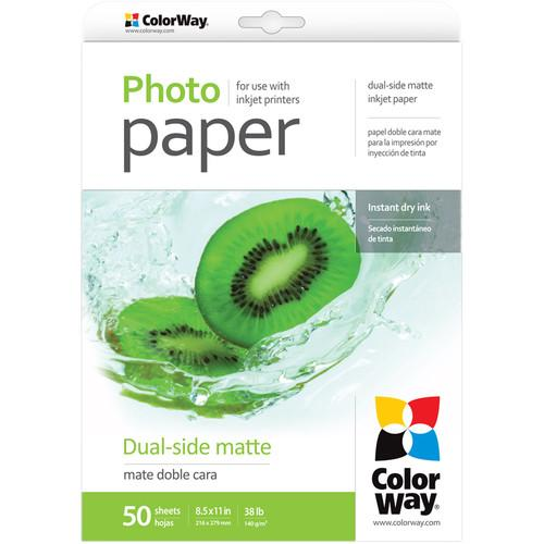 ColorWay  Dual-Side Matte Photo Paper PMD140050LT