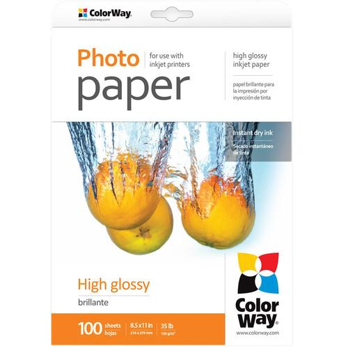 ColorWay  High Gloss Photo Paper PG130100LT