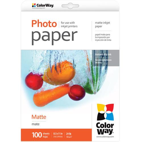 ColorWay  Matte Photo Paper PM108100LT