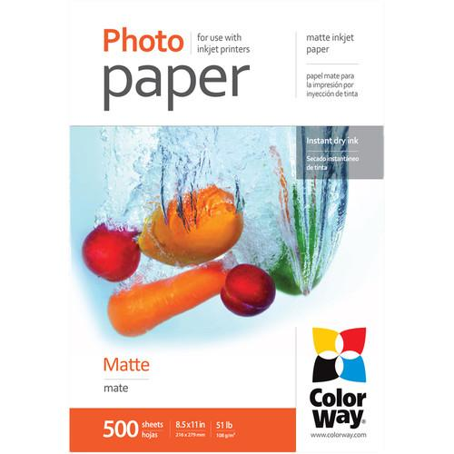 ColorWay  Matte Photo Paper PM108500LT