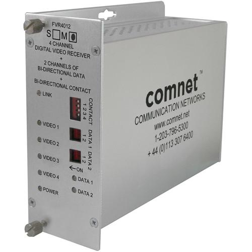 COMNET FVR4012M1 4-Channel Digital Video / 2 FVR4012M1