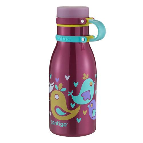 Contigo 12 oz Maddie Stainless Steel Kids Water Bottle 71352