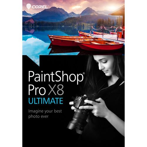 Corel PaintShop Pro X8 Ultimate (DVD) PSPX8ULENMBAM