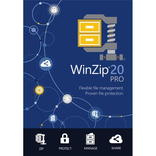 Corel  WinZip 20 Pro (Download) ESDWZ20PROML