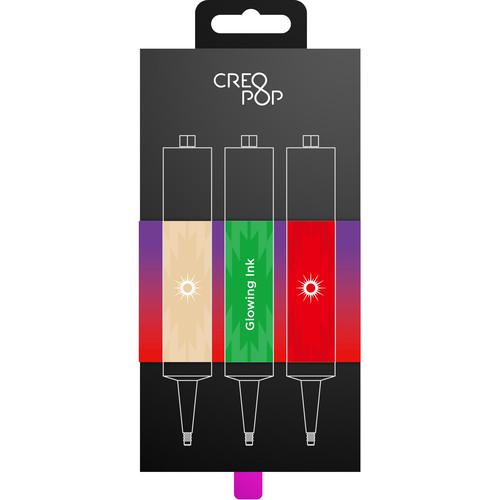 CreoPop  Glow-in-the-Dark Ink 3-Pack SKU007