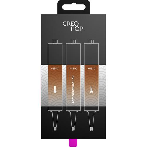 CreoPop Temperature Sensitive Ink 3-Pack (Brown) SKU011