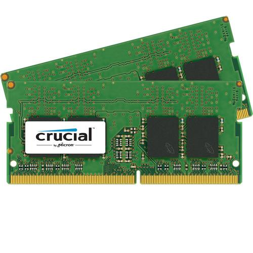 Crucial 8GB (2 x 4GB) UDIMM DDR4-2400 PC4-19200 CT2K4G4DFS824A