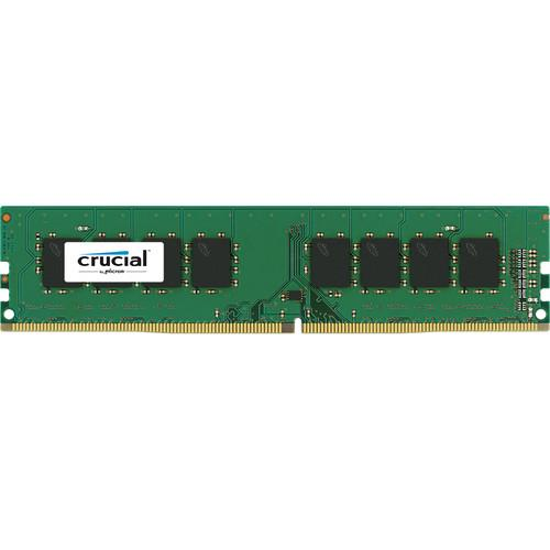 Crucial 8GB UDIMM DDR4-2400 PC4-19200 Dual Rank CT8G4DFD824A
