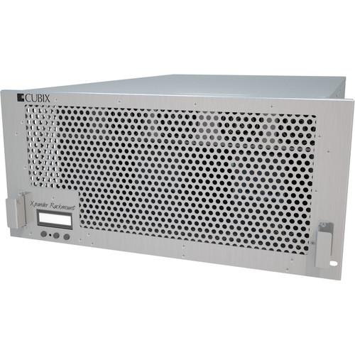 Cubix Xpander Rack Mount 8 6U Gen 3 with Redundant XPRMG3-826URP