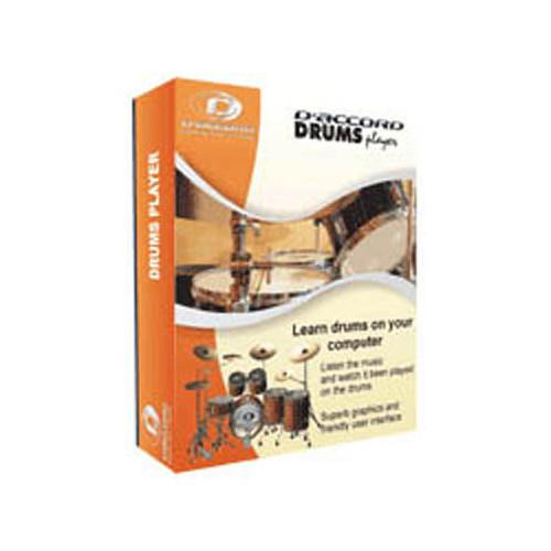 D'Accord Music Software Drums Player - Instructional DRUMSPLAYER