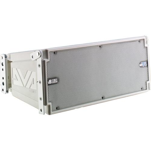 dB Technologies DVA T4 3-Way 420W Active Line-Array DVA T4 WHITE
