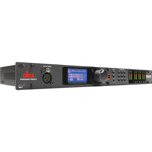 dbx DriveRack PA2 Loudspeaker Management Kit with RTA-M