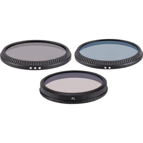 Digital Concepts 3 Filter Kit for Zenmuse X3 DC-FK3-IN1
