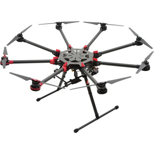 DJI Spreading Wings S1000  Octocopter with Zenmuse Z15-A7, A2,